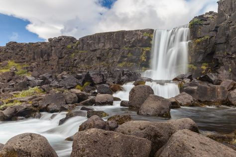 Oxararfoss, Thingvellir, Iceland