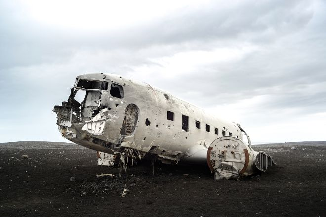 Solheimasandur Plane Wreck, Vik, Iceland