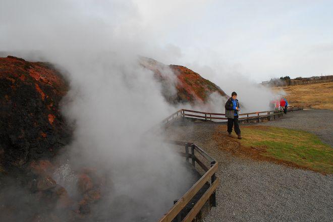 Deildartunguhver Thermal Spring, Reykholt, Iceland