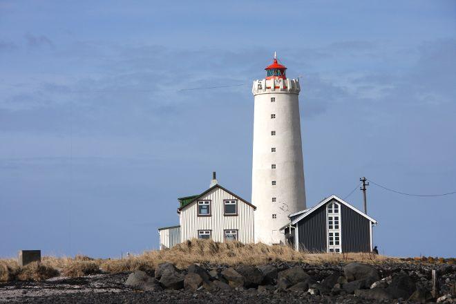 Grotta Lighthouse, Reykjavik, Iceland