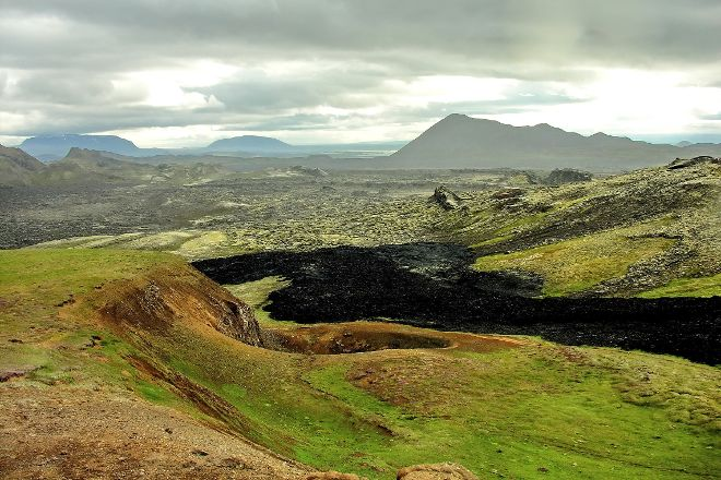 Krafla Lava Fields, Lake Myvatn, Iceland
