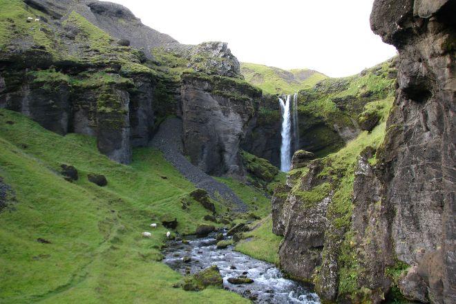 Kvernufoss, Skogar, Iceland