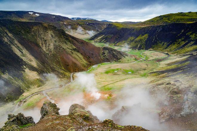 Reykjadalur Hot Springs, Hveragerdi, Iceland