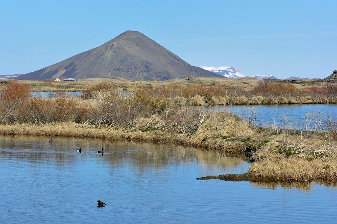 Vindbelgjarfjall, Lake Myvatn, Iceland
