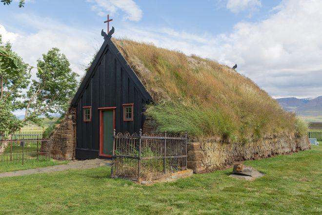 Víðimýrarkirkja, Varmahlid, Iceland