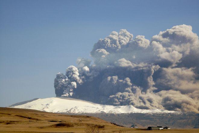 Volcano Eyjafjallajokull, Selfoss, Iceland