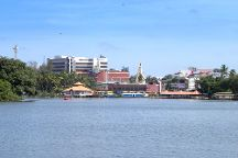 Ashtamudi Lake, Kerala, India