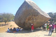 Krishna's Butter Ball, Mahabalipuram, India