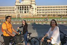 On a Pedal, Bengaluru, India