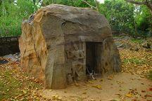 Rock cut temple, Vizhinjam, India
