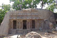 Trimurti Cave, Mahabalipuram, India