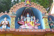 Vishnu Temple, Varkala Town, India