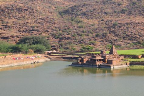 Agastya Lake, Badami, India