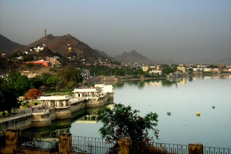 Anasagar Lake, Ajmer, India