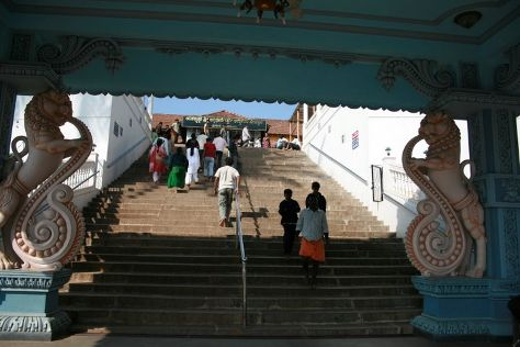 Annapoorneshwari Temple, Sringeri, India