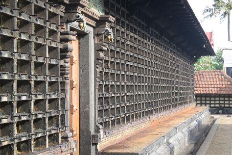 Aranmula Parthasarathy Temple, Pathanamthitta, India