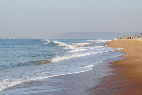 Candolim Beach, Bardez, India
