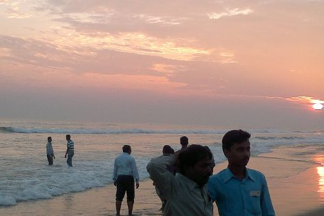 Chandrabhaga Beach, Konark, India