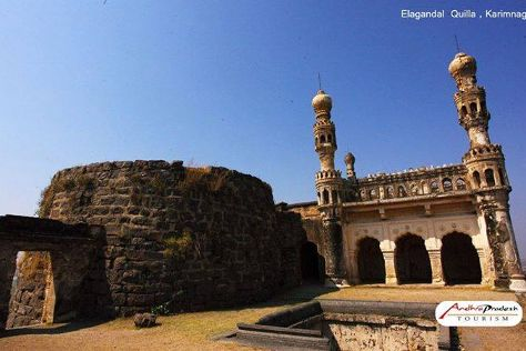 Elgandal Fort, Karimnagar, India