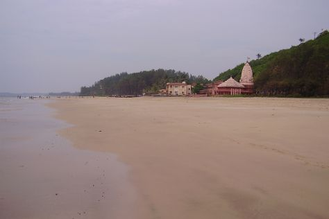 Ganapatipule Beach, Ratnagiri, India