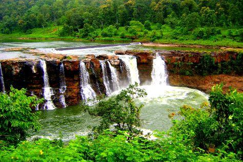 Gira Waterfalls, Saputara, India