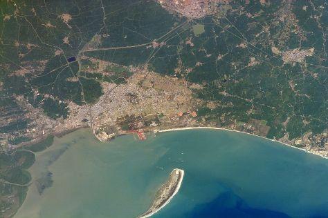 Hope Island, Kakinada, India