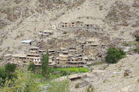 Hunderman village, Kargil, India