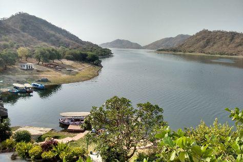 Jaisamand Lake, Udaipur District, India