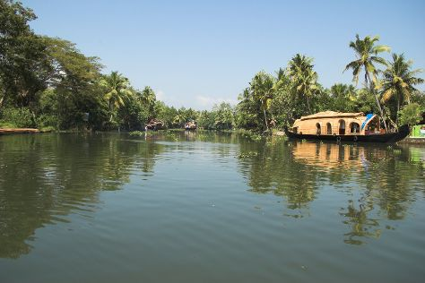 Kerala Backwaters, Kerala, India