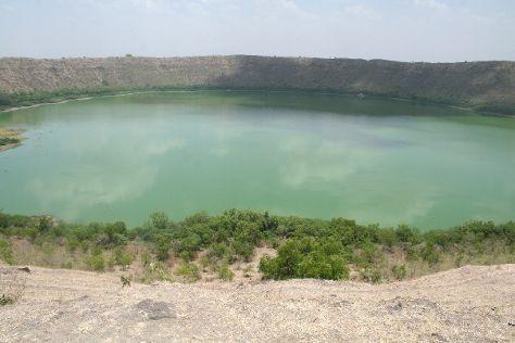 Lonar Crater, Lonar, India