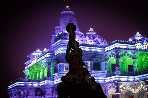 Prem Mandir - Shyama Shyam Dham, Vrindavan, India