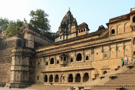 Queen's Fort, Maheshwar, India