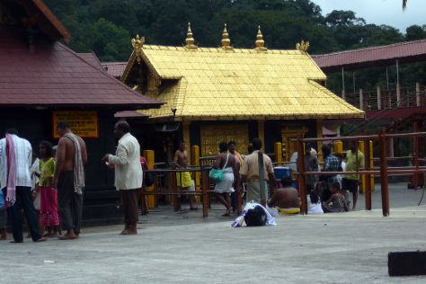Sabarimala Sri Dharmasastha Temple, Pathanamthitta, India