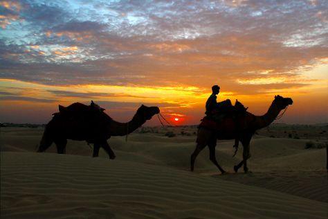 Sam Sand Dunes, Kanoi, India