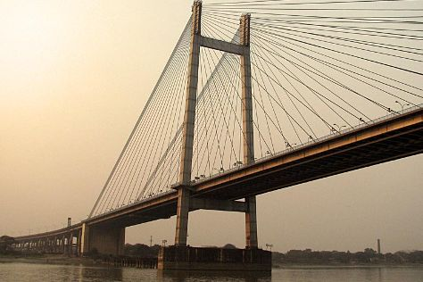 Second Hooghly Bridge, Howrah, India