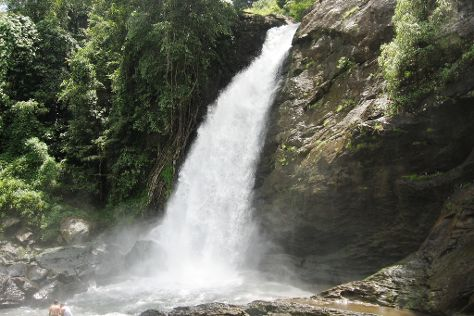 Soochippara Falls (Sentinel Rock Waterfall), Kalpetta, India