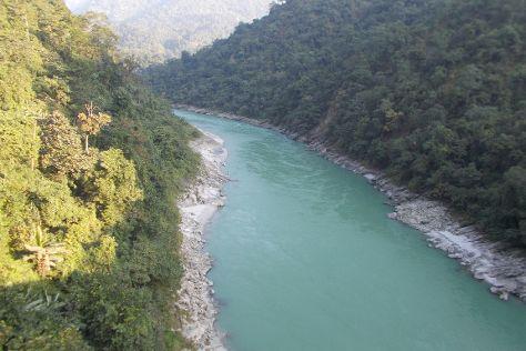 Teesta River, East Sikkim, India