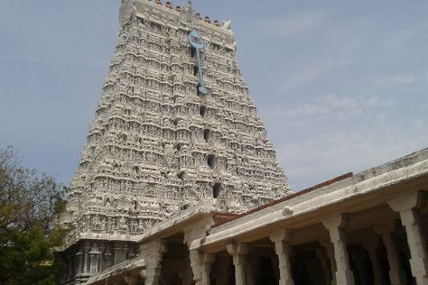 Thiruchendur Murugan Temple, Thiruchendur, India