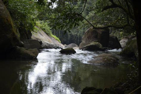 Thommankuthu Waterfalls, Thodupuzha, India
