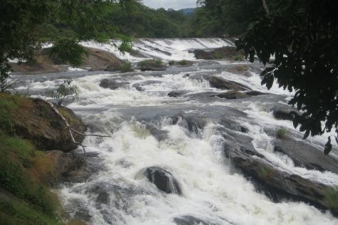 Vazhachal Falls, Athirappilly, India