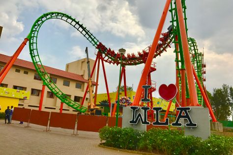 Wonderla Amusement Park, Bengaluru, India