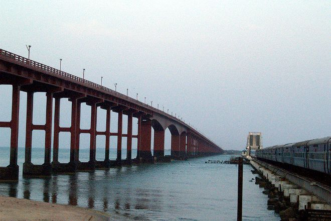 Annai Indira Gandhi Road Bridge, Rameswaram, India