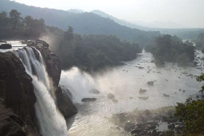 Athirappilly Waterfalls, Thrissur, India