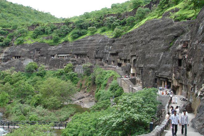 Aurangabad Caves, Aurangabad, India