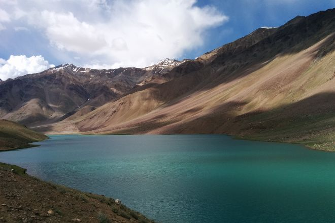 Chandertal Lake, Himachal Pradesh, India
