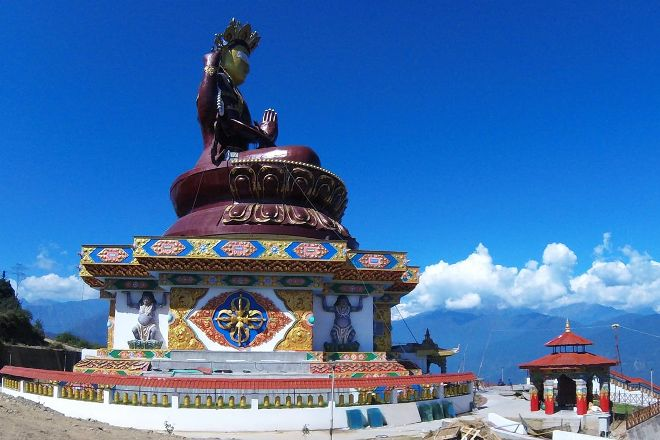 Chenrezig Statue, Pelling, India