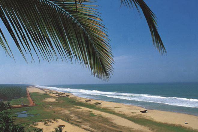 Chowara Beach, Chowara, India