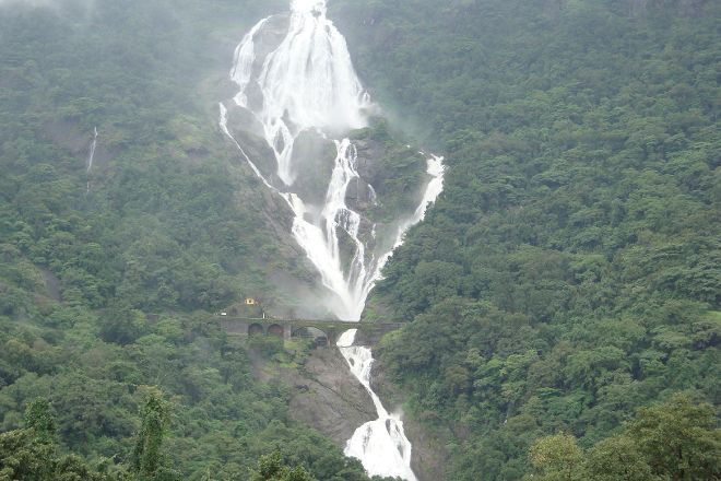 Dudhsagar Falls, Mollem National Park, India