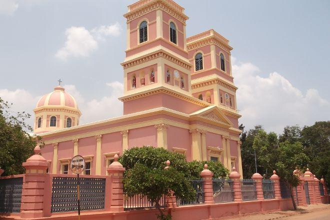 Eglise de Notre Dame des Anges, Pondicherry, India