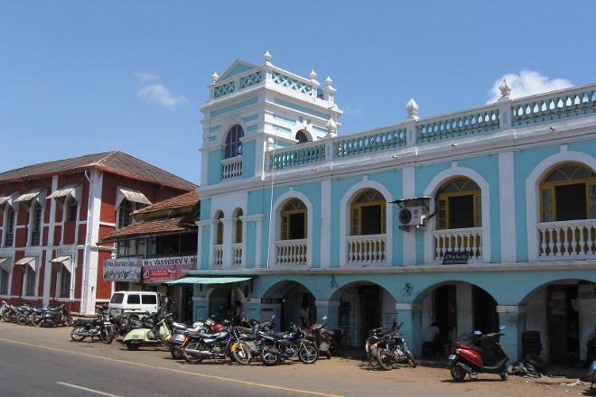 Fontainhas, Panjim, India